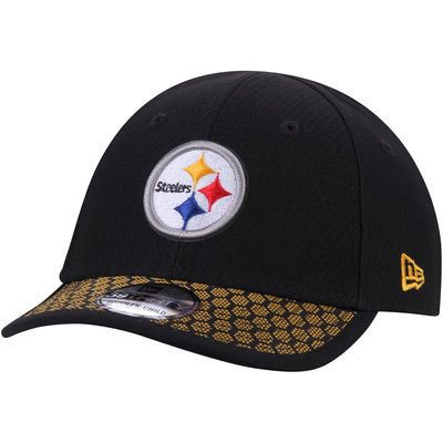 Toddler New Era Black Pittsburgh Steelers 2017 Sideline Official 39THIRTY Flex Hat