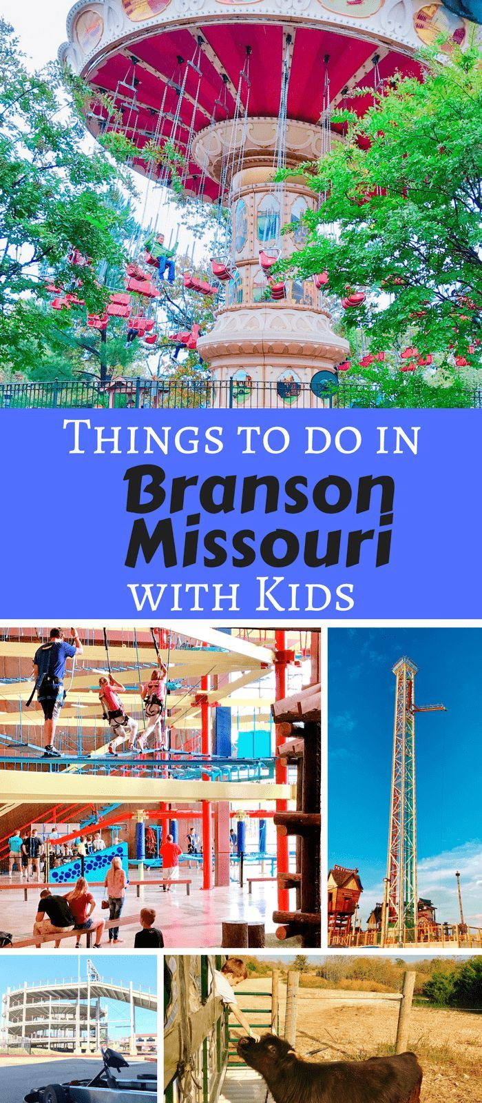 10 Fun Things To Do In Branson Mo With Kids Branson Vacation Kids Vacation Branson Missouri Vacation