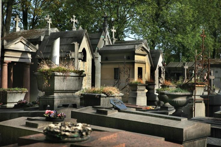 Pere Lachaise Cemetery - Paris  The 10 most haunted cemeteries covered in this slideshow are by no means the only haunted graveyards. However, they do offer ghost hunters some fascinating possibilities. For instance, consider historic Pere Lachaise in Paris, France. It houses a veritable who's who of the famous dead including Oscar Wilde, Jim Morrison and Marc