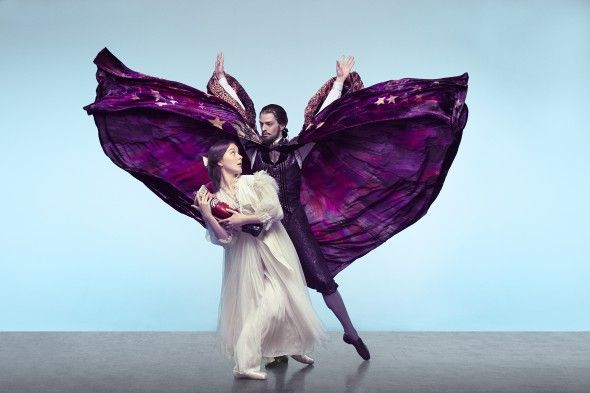 The Australian Ballet's The Nutcracker: Bendicte Bemet and Andrew Killian; photography by Georges Antoni (=)