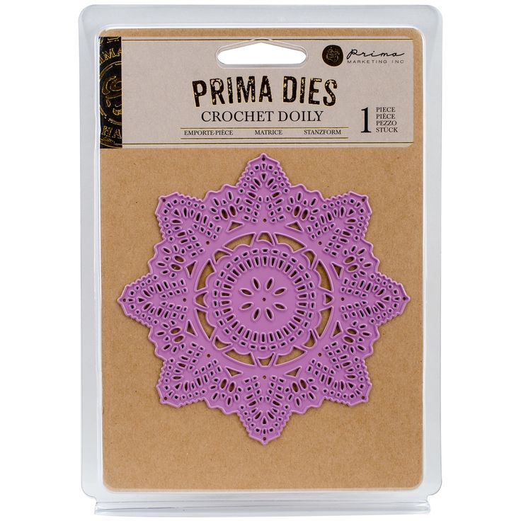 Prima Marketing Metal Die-Crochet Doily
