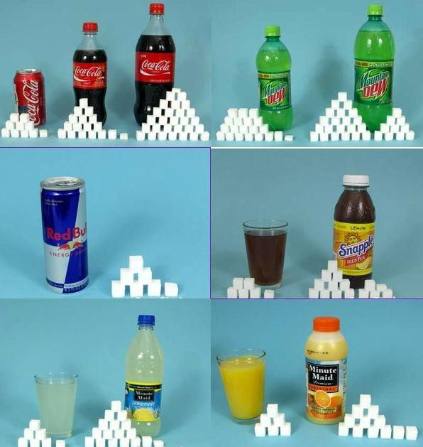 Rethink your drink and read the nutrition label! Remember ...