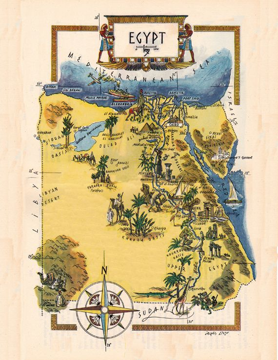 Best Egypt Through The Ages Images On Pinterest Ancient - Map of egypt before the sands