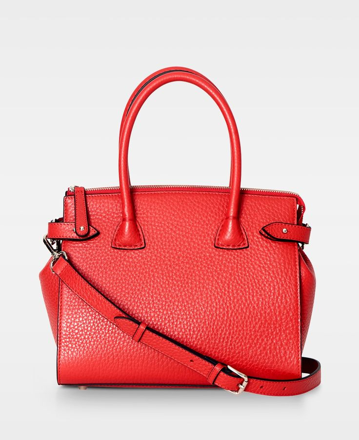 DECADENT Grace X-small shopper, Red.