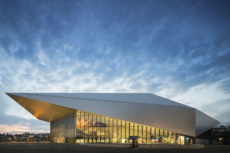 EPFL QUARTIER NORD SwissTech Convention Center Retail and Student Housing  / Richter Dahl Rocha  Associés