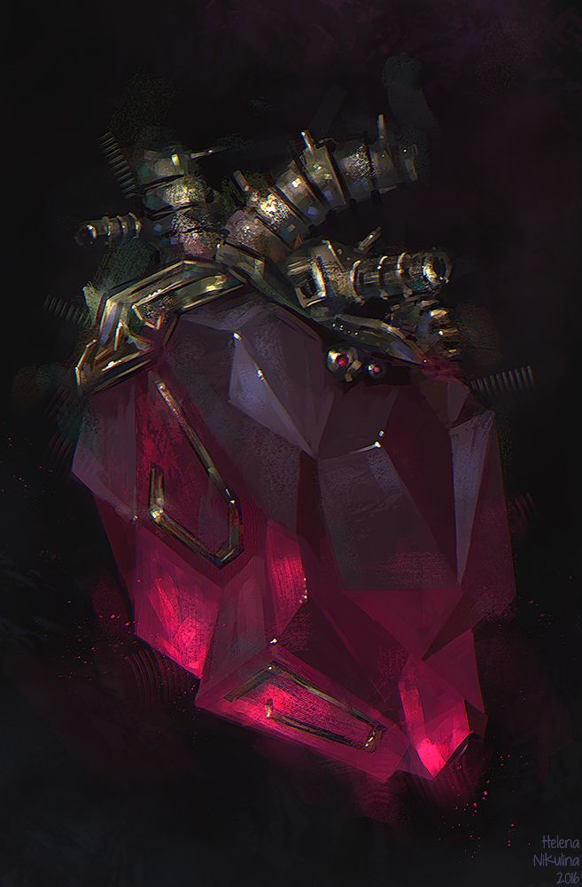 Heart of Lorkhan by Nikulina-Helena