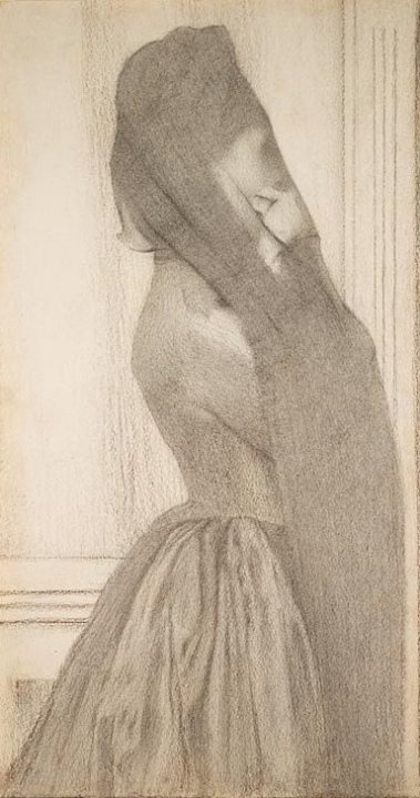 KHNOPFF Fernand - Belgian (Grembergen 1858 - 1921 Brussels) -