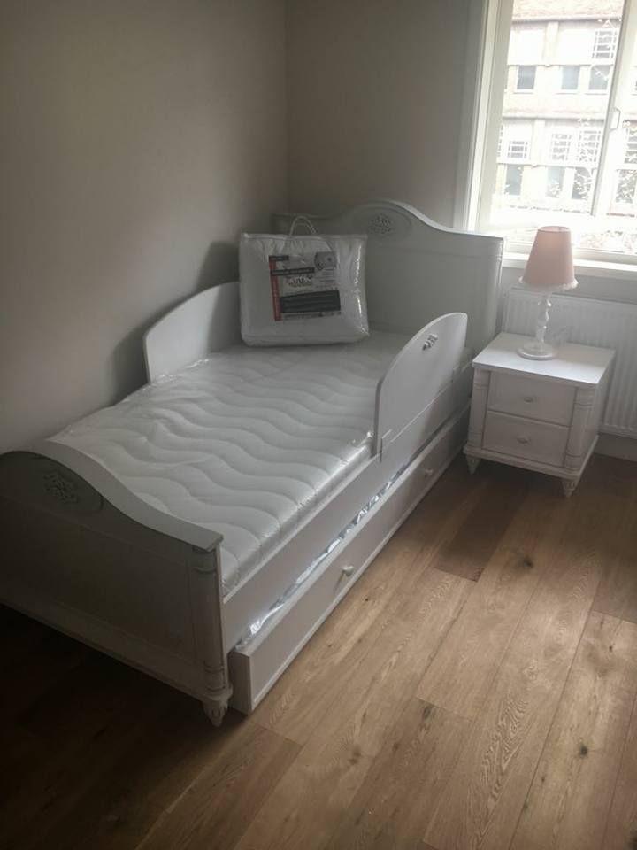 Wit Meisjes Bed.Romantic Meisjes Bed Kinderkamer 200 X 100 Cm Prinsessenkamer