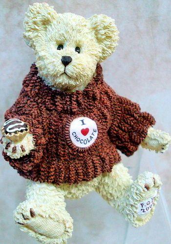 BOYDS BEARS Cocoa Sweetbeary (resin FOB 2005)