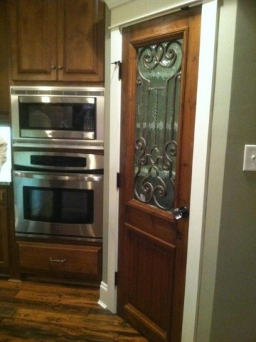 Wrought Iron Inset Used On Pantry Door It Doesn 39 T Matter
