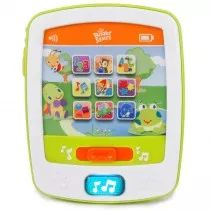 ABC's, 123's, & more! This interactive activity toy will keep baby entertained with loads of fun features!