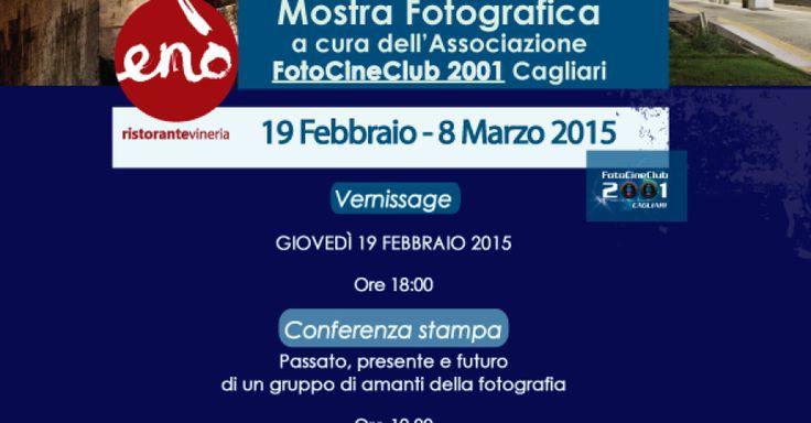 """Il Ristorante Vineria Enò, sito in vico Carlo Felice 10/12 a Cagliari, organizza la mostra fotografica """"Cagliari notturna"""" che si svolgerà nel locale dal 19 febbraio all'8 marzo 2015."""