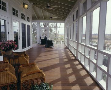 The exposed rafter tails at the edge of the porch add the authentic Southern farmland vibe.
