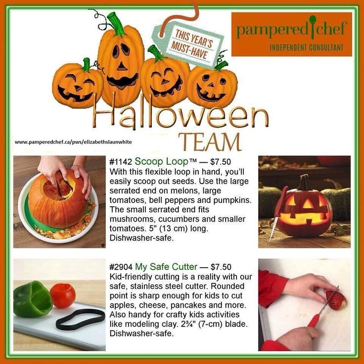 Pumpkin carving will never be easier!  https://www.pamperedchef.ca/pws/elizabethslaunwhite