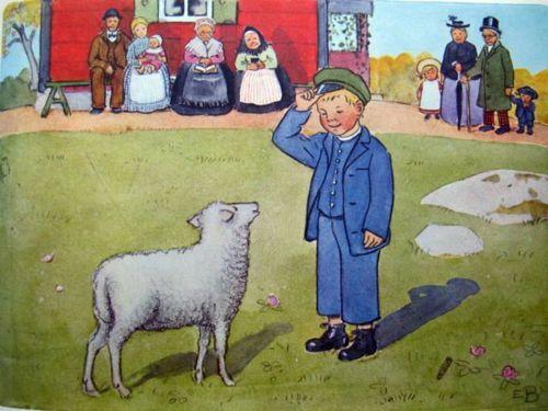 Thank you, sheep! Pelle's New Coat, Elsa Beskow.