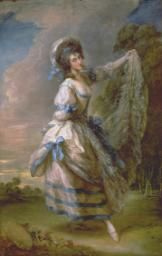 Thomas Gainsborough 'Giovanna Baccelli', exhibited 1782
