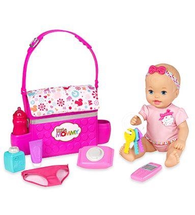 Muñecas bebés y accesorios- Bebitas Recién nacidas, Aprendiendo Ir al Baño - Little Mommy