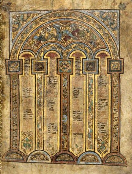Figure 2 The Book of Kells, ca.800, TCD MS 58, f. 2r © The Board of Trinity College Dublin, the University of Dublin. 2015.