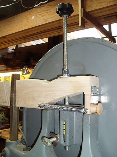 Homemade Bandsaw Blade Tension Quick Release By Blake