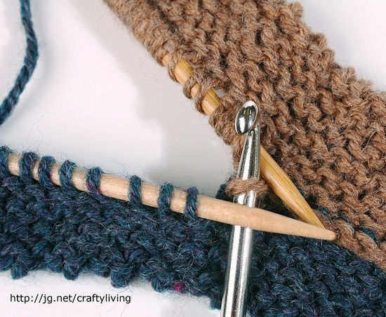 How To Join Live Stitches In Knitting : The 73 best images about Knitting-putting it together on Pinterest Mattress...