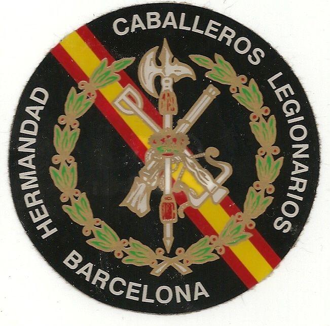 hermandad caballeros legionarios Barcelona