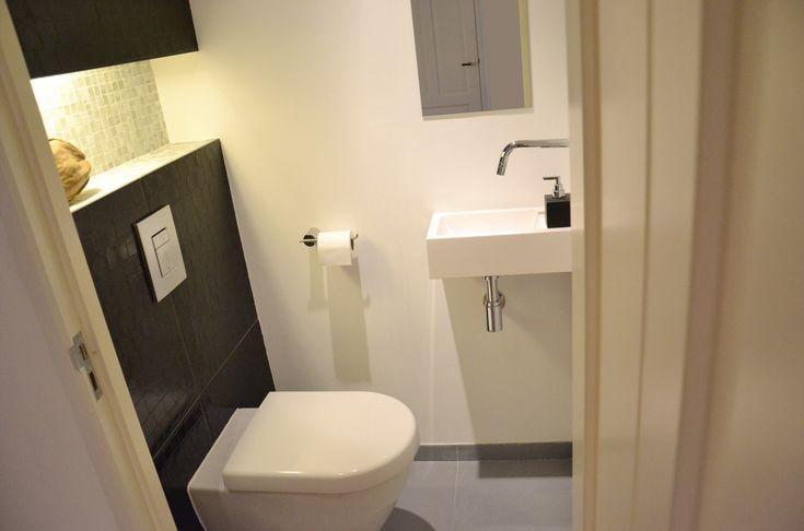 Modern toilet design.