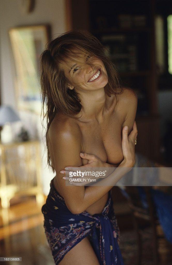News Photo : Elle Mac Pherson. En avril 1990, Aux Etats Unis,...