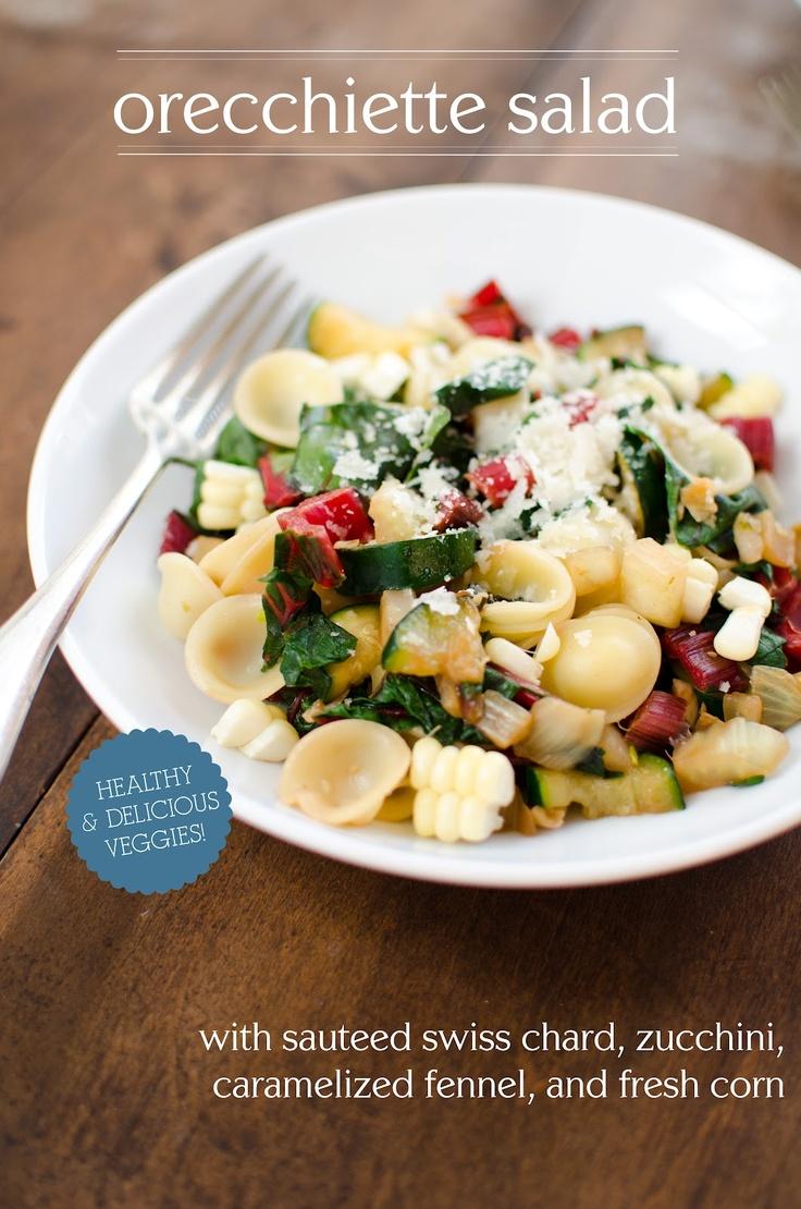 Apricosa: Orecchiette and Sauteed Vegetable Salad