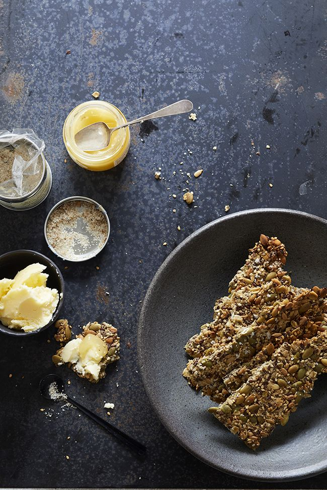 Homemade Seeded Flat Bread — Kitchen Repertoire