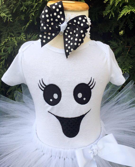 Las muchachas del bebé niña fantasma traje por ChristiCreations