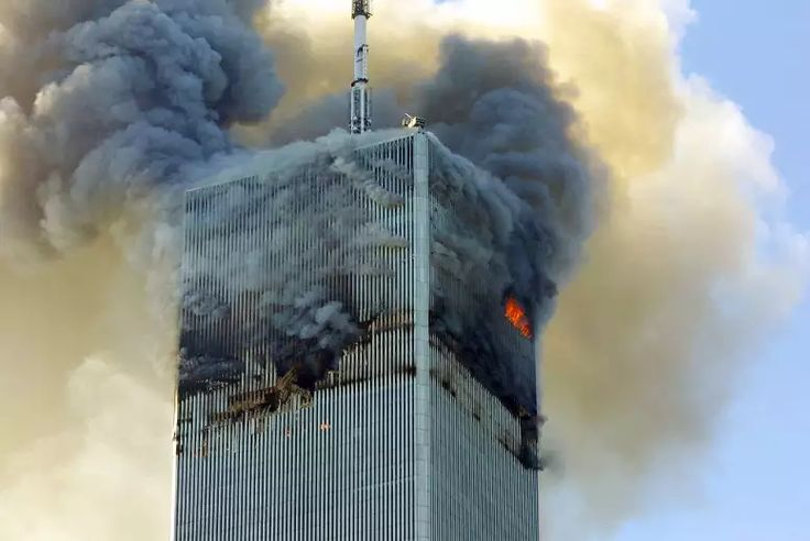 it was struck in 2001. Seventeen years later, it still burns with no fire fighter in sight.