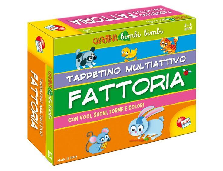 Tappetino Multiattivo della Fattoria: Amazon.it: Giochi e giocattoli