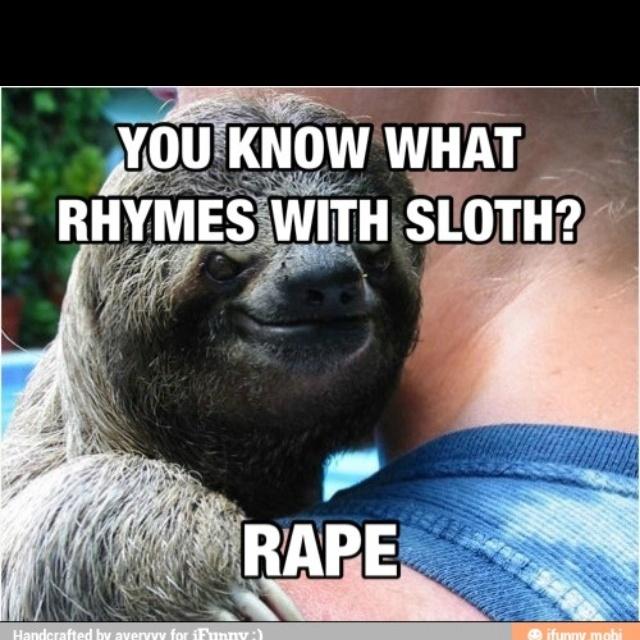 rape sloth meme jalapeno - photo #34