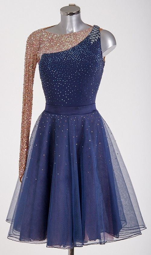 ToDo: Convince Ailani that blue rhinestones should go on the blue dress and aurora ab on the mesh!