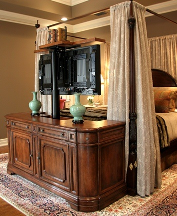 Master Bedroom Television Lift Cabinet...that would be so great