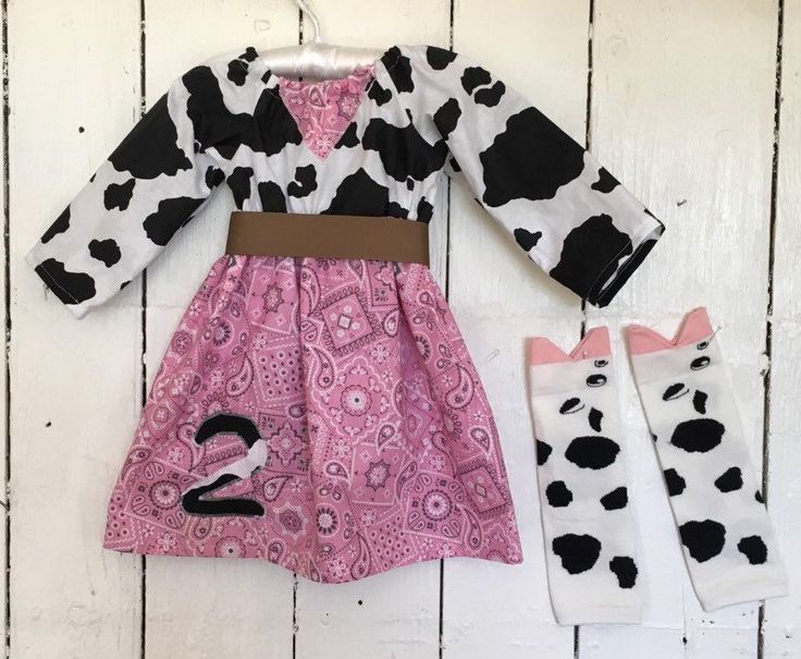 Cowgirl Rodeo outfit long or short sleeves with leg warmers red bandana cow outfit western dress cow costume http://etsy.me/2CLnNg9 #clothing #cowfarmoutfit
