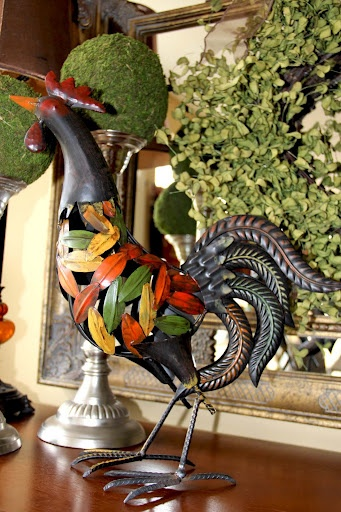 Great metal rooster