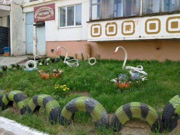 Garden Ideas With Tires best 10+ reuse old tires ideas on pinterest   tyres recycle, best