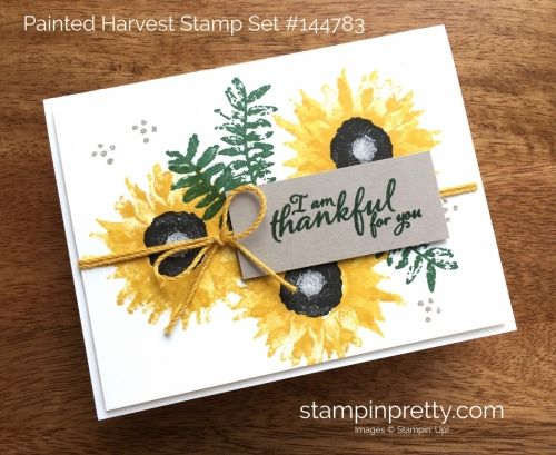 SNEAK PEEK from the Stampin' Up! Holiday catalog of the Painted Autumn Stamp Set.  Read more https://stampinpretty.com/2017/07/1st-sneak-peek-video-stampin-holiday-catalog.html