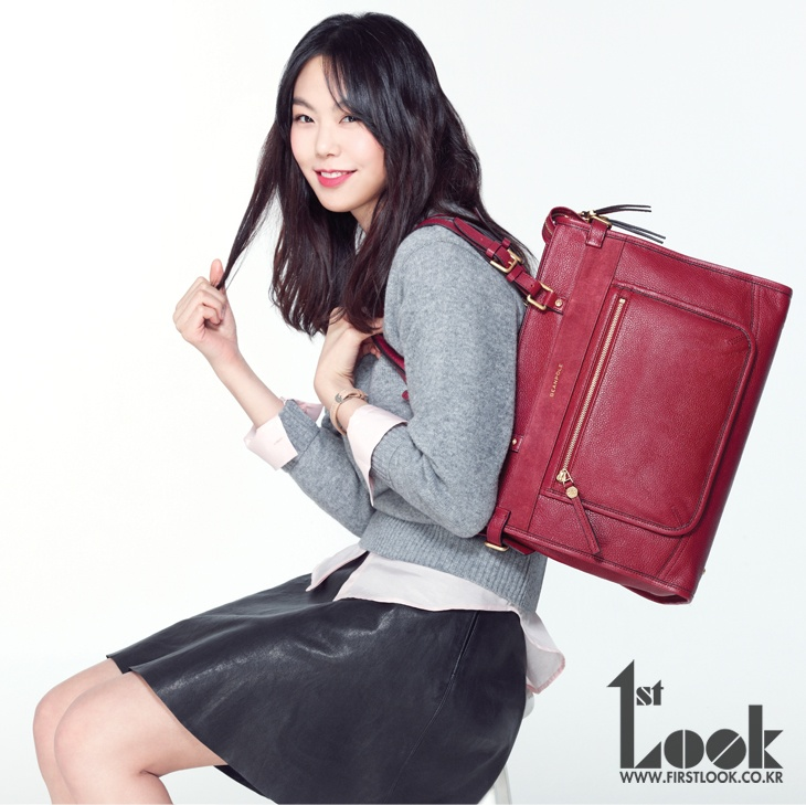 Kim Min-hee for 1st Look