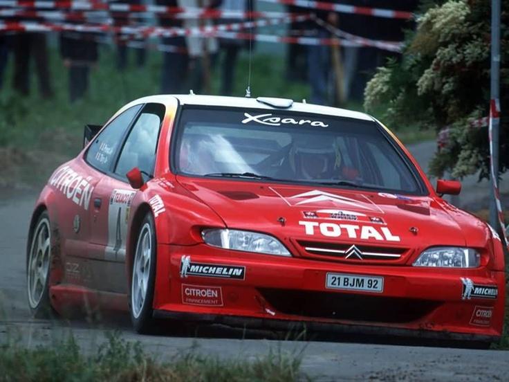 Citroen Xsara Rally Car
