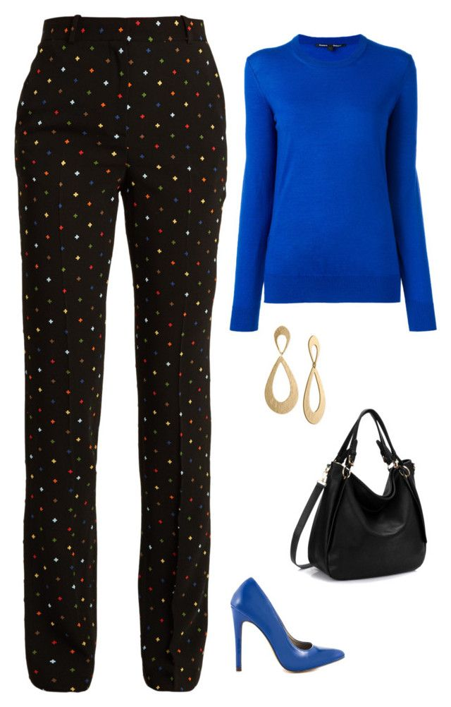 """""""Untitled #1843"""" by netteskytte on Polyvore featuring Givenchy, Michael Antonio, Rachel Rachel Roy and Proenza Schouler"""