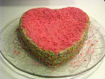 San Valentine's Cake - Sevgililer Günü Pastası - Torta di San Valentino