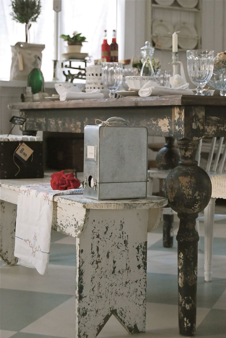 rustic: Benches Ideas, Decor Ideas, Kitchens Ideas, Furniture, Benches Seats, Benches Ani Kind, Future Kitchens, Shabby Chiclov, Vintage Decor