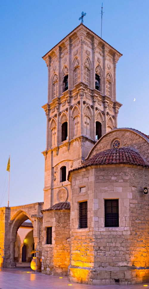 The pretty Church of Saint Lazarus in Larnaca, Cyprus #Larnaca