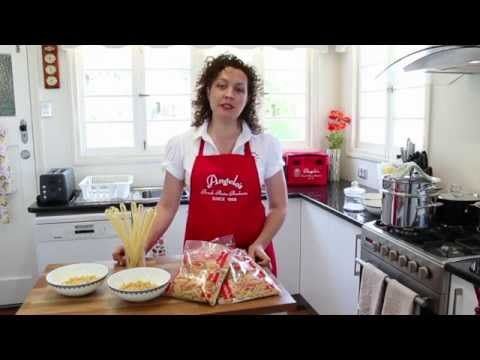 PastaTV - How to Meaure the Right Amount of Pasta Per Person - YouTube