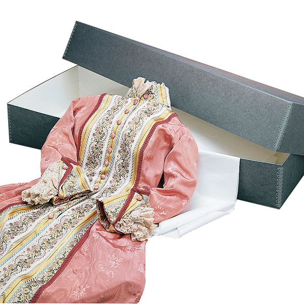 Blue/Gray Textile Storage Boxes | University Products