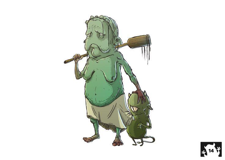 Weekly Monster 14 by Błażej Brzeźny [2015] – see more at www.brzezny.pl