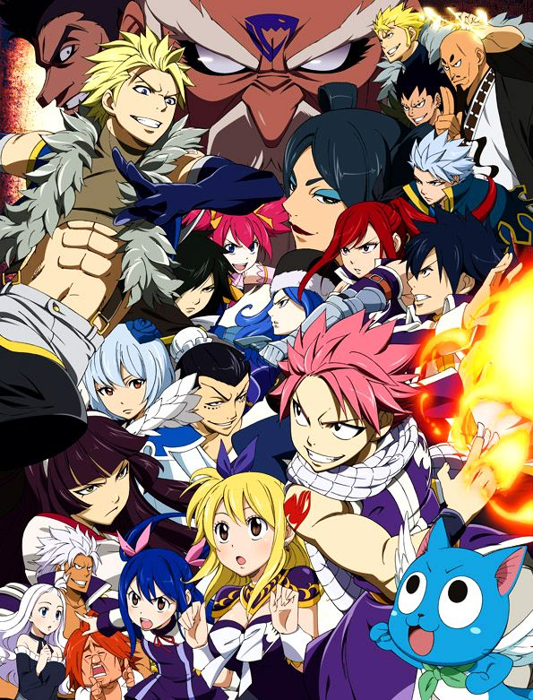 Grand Magic Games arc Fairy tail anime, Anime fairy