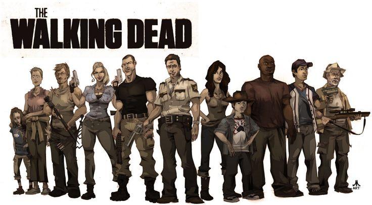 The Walking Dead: Top 10 Anti Héros - SeriesBlog.TV